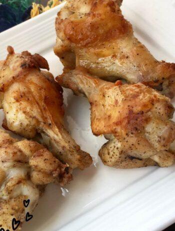 Lemon-Pepper Baked Chicken Wings Recipe