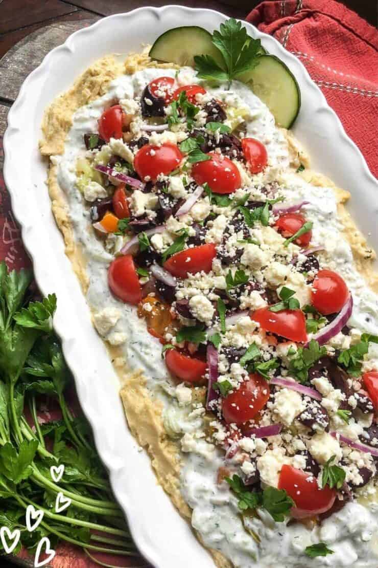 Mediterranean Layer Dip Recipe