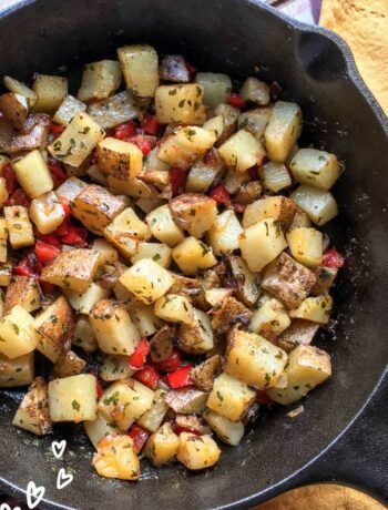 Parmesan Breakfast Potatoes Recipe