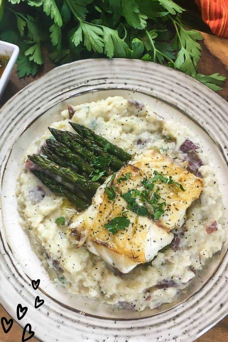 Pan-Seared Grouper Recipe with Lime Butter Sauce