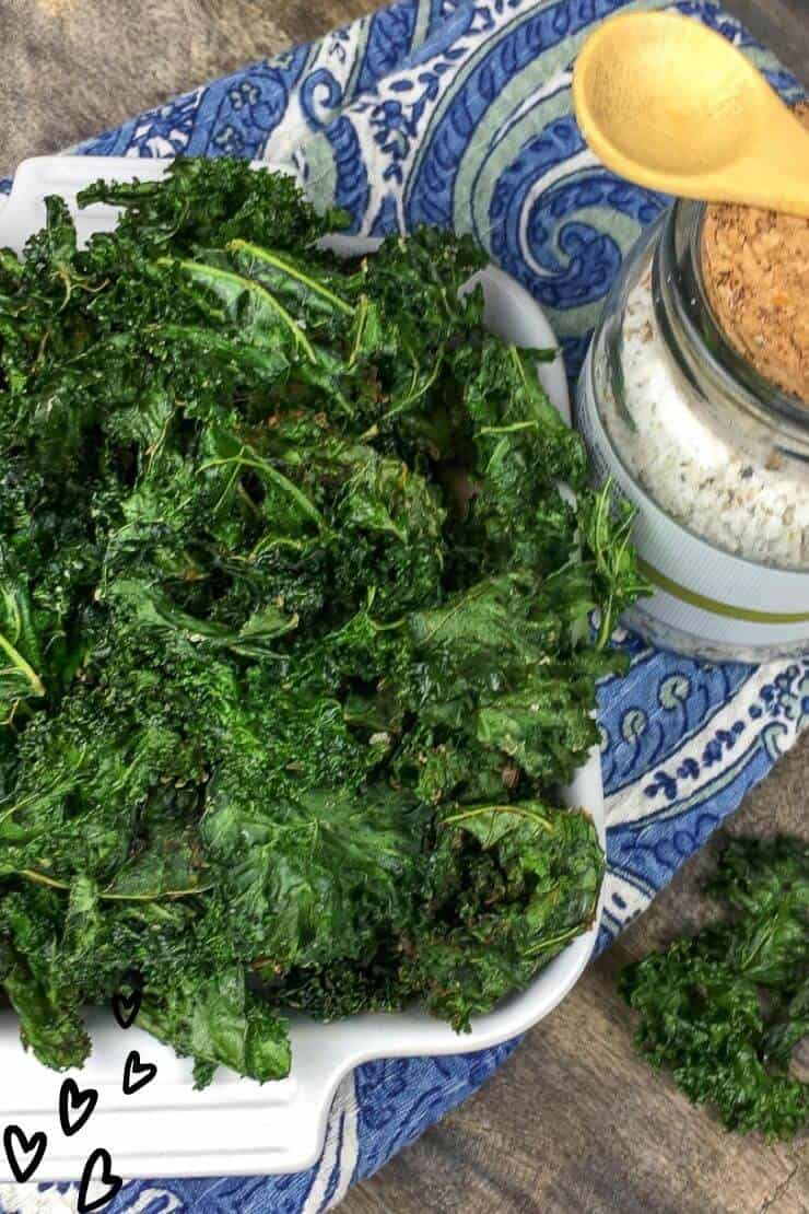 How to Make Crispy Kale Chips