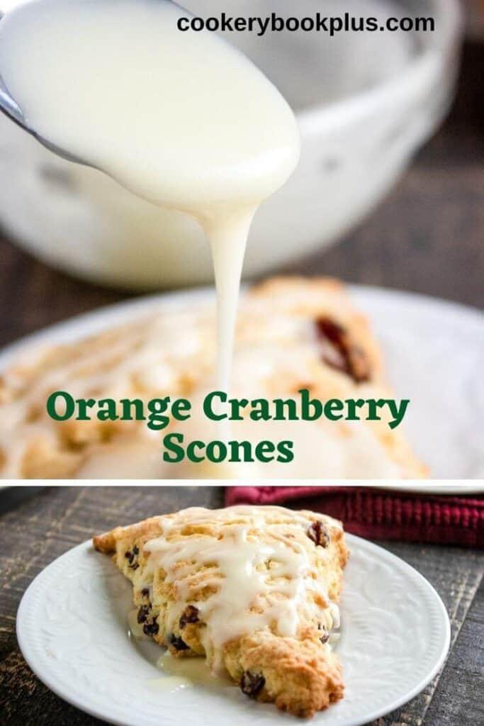 Easy Orange Cranberry Scones