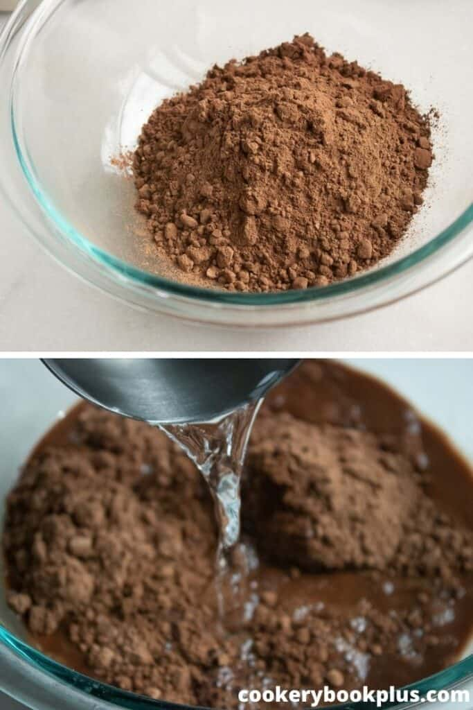 Chocolate Layer Cake - Step 2