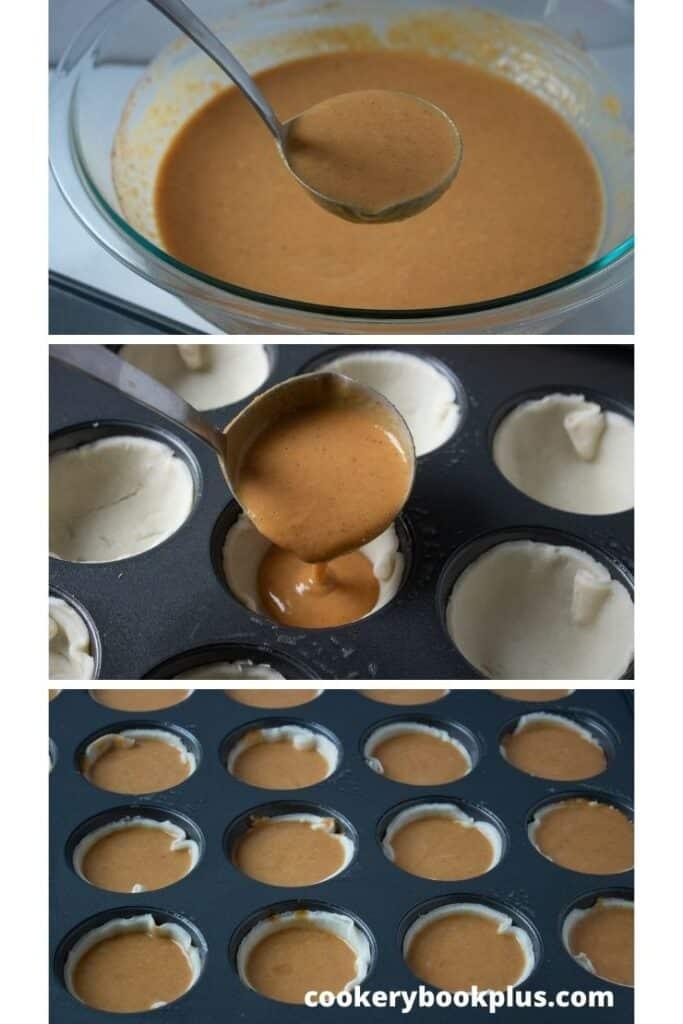 Mini Pumpkin Pies Step 4