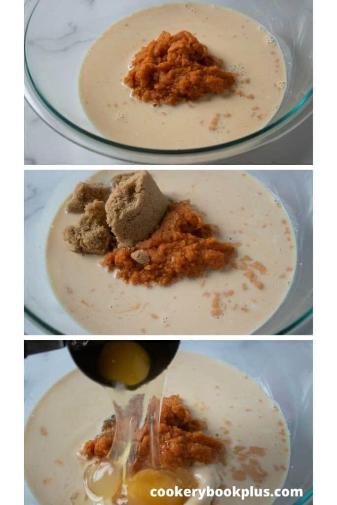 Mini Pumpkin Pies Step 2