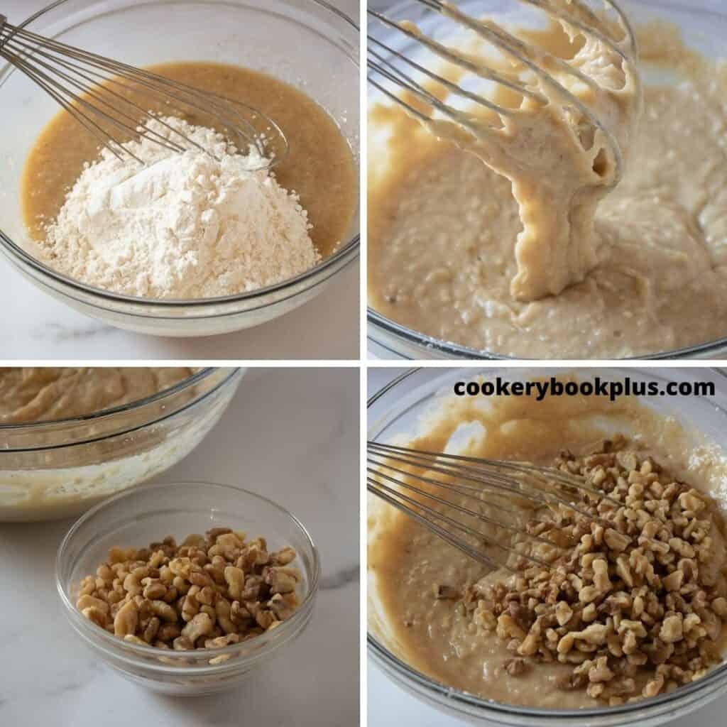 Banana Nut Muffins Step 3