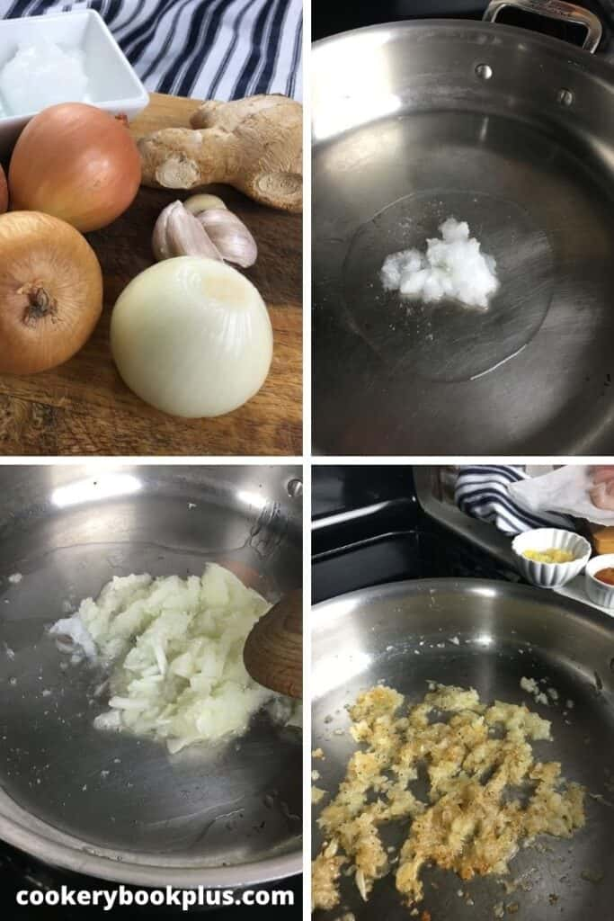 Coconut Fish Curry - Step 1
