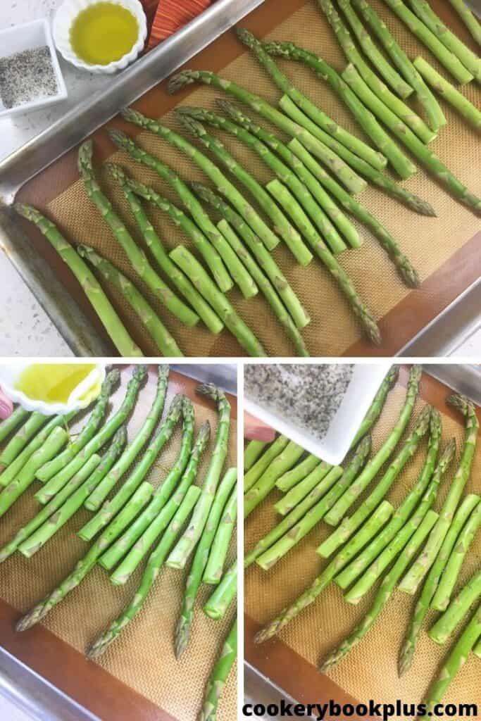 Easy Oven Roasted Asparagus Step 2
