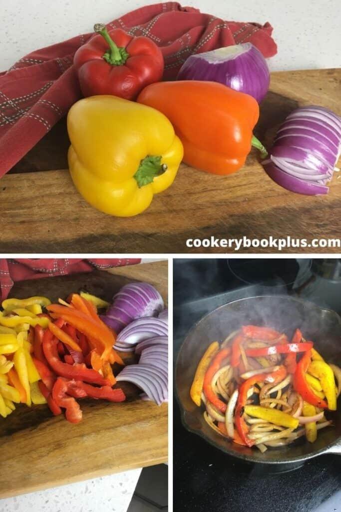 Shrimp Fajita Bowls - Step 2