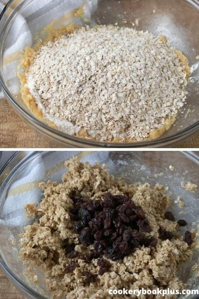 Oatmeal Raisin Cookies Step 4
