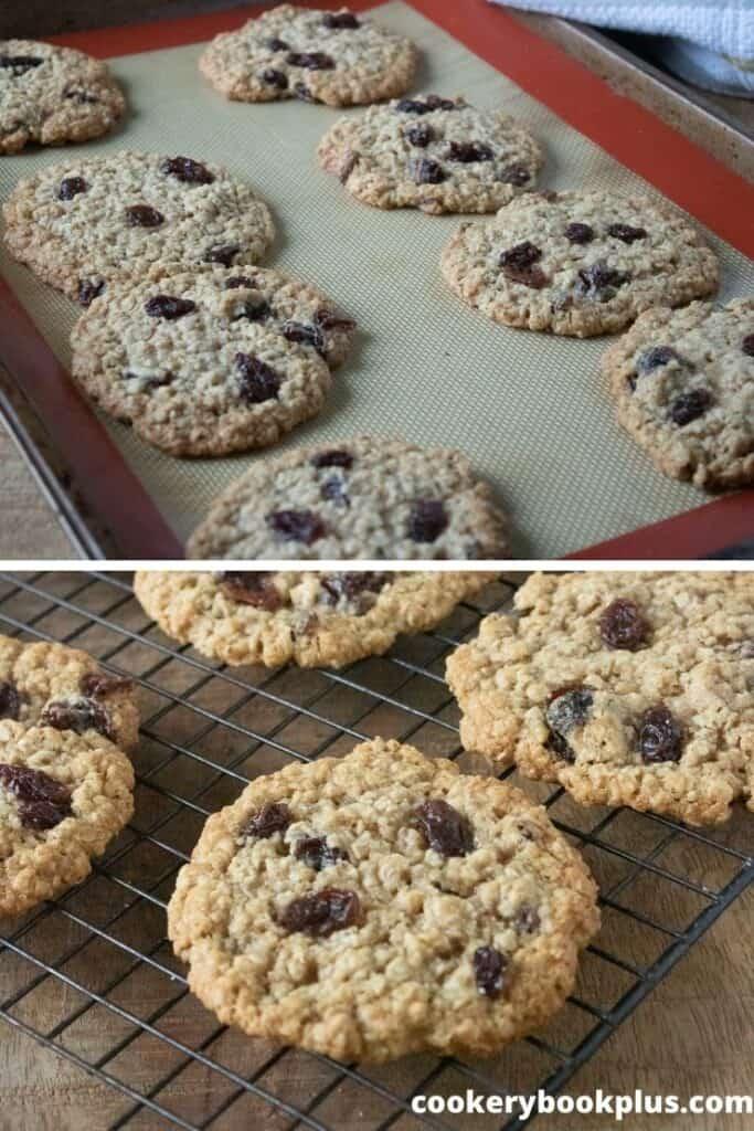 Oatmeal Raisin Cookies Step 6