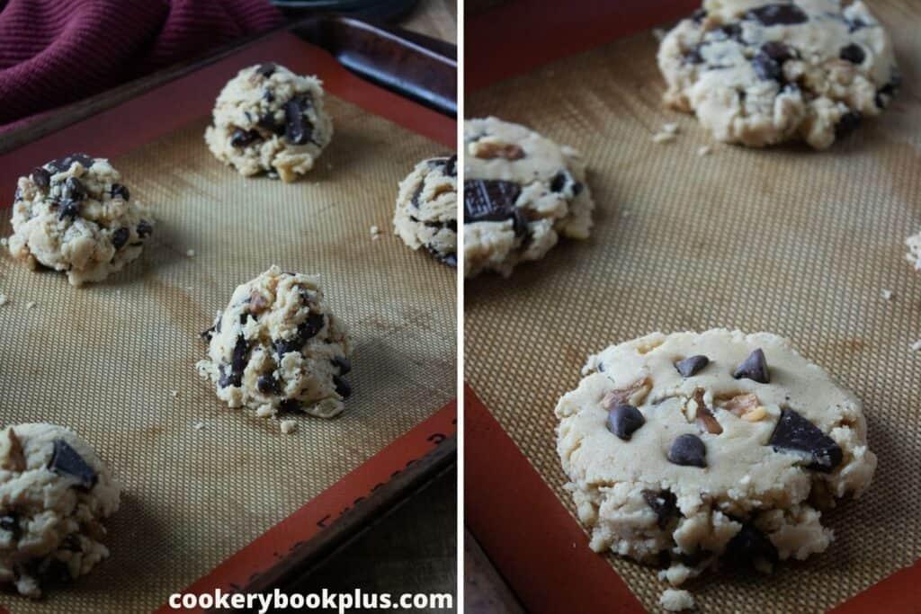Walnut Chocolate Chunk Cookies - Step 5