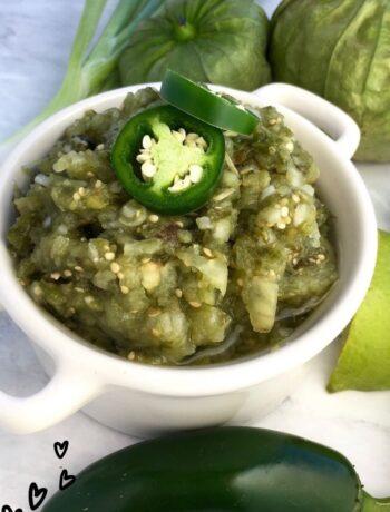 Fresh Salsa Verde Recipe