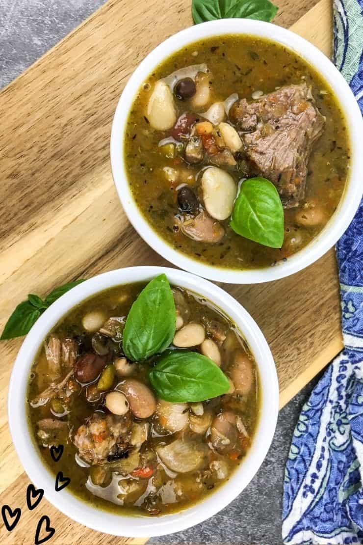 Easy 15 Bean Soup