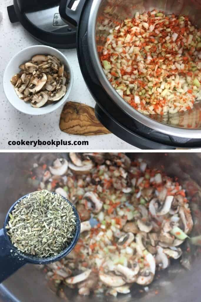 Chicken and Wild Rice Soup - Step 2