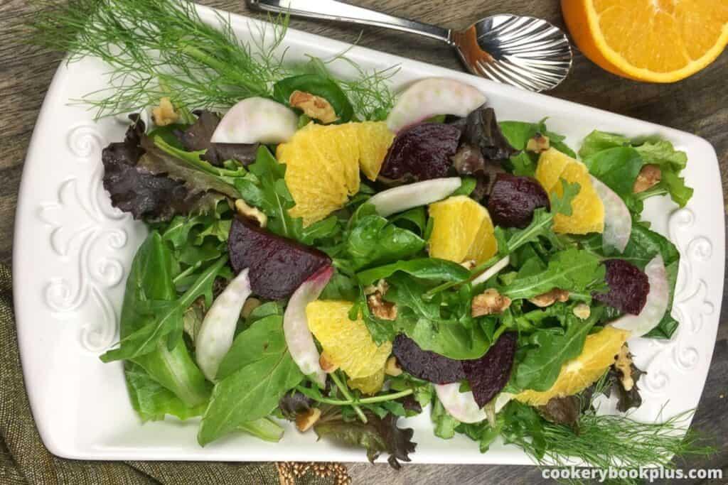 Roasted Beet, Citrus, & Fennel Salad