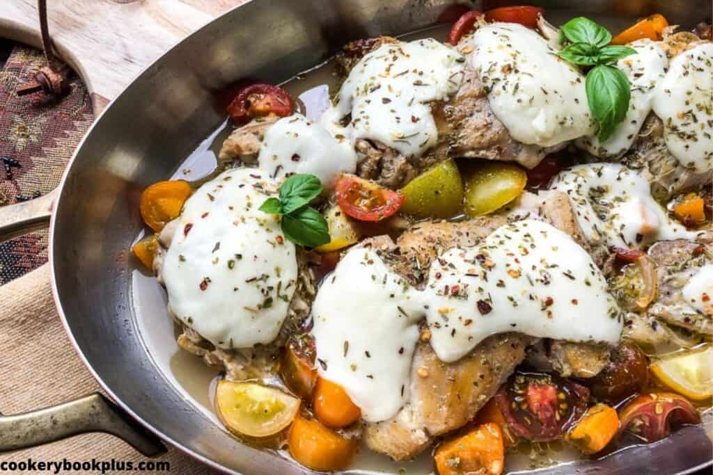 Keto Mozzarella Chicken Thighs