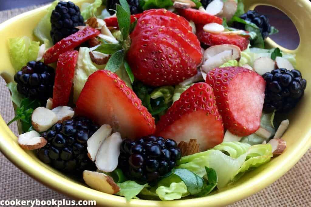 Berry Salad with Raspberry Vinaigrette