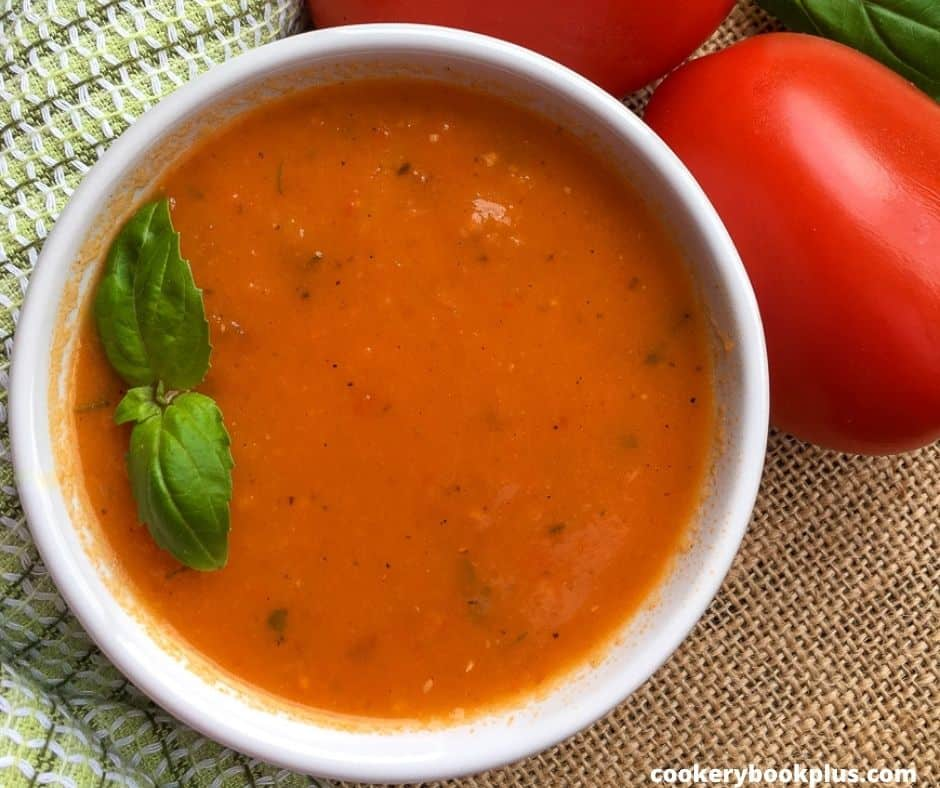 Vegan Tomato and Fennel Soup