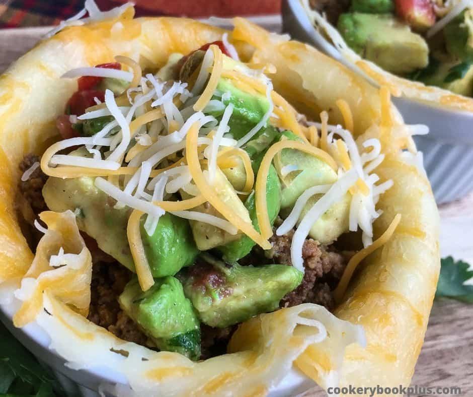 Keto Taco Bowl Recipe
