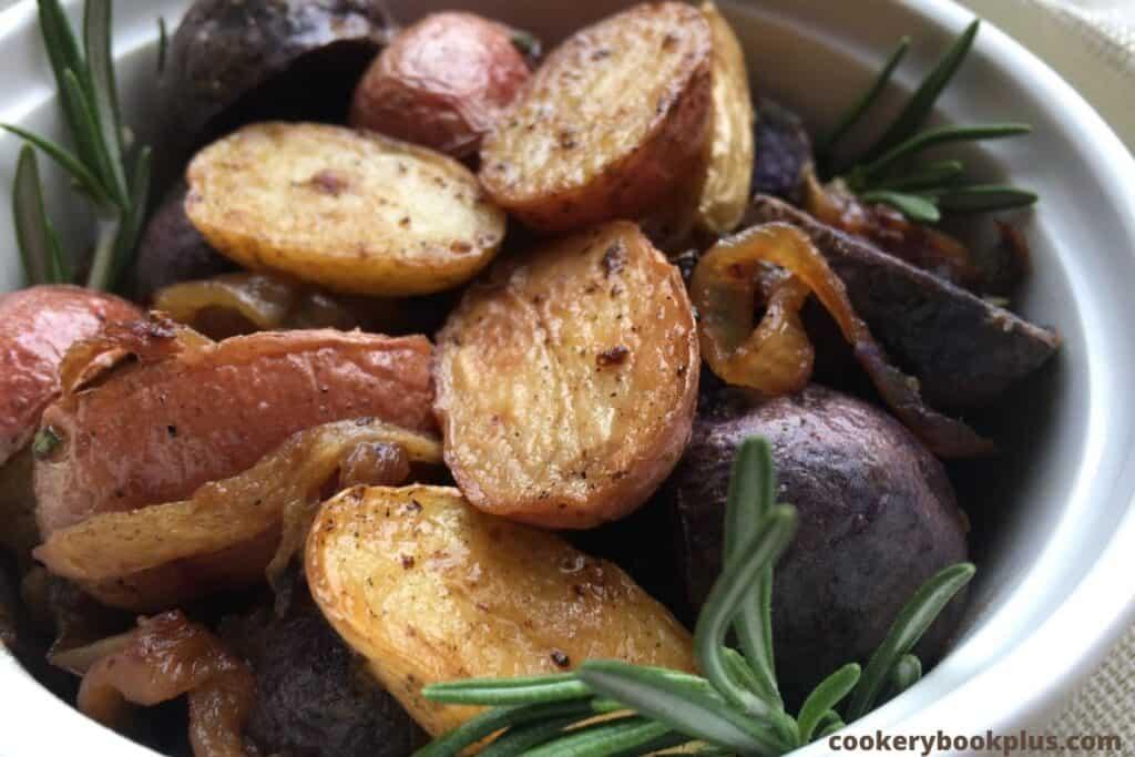 Vegan Roasted Rosemary Potatoes