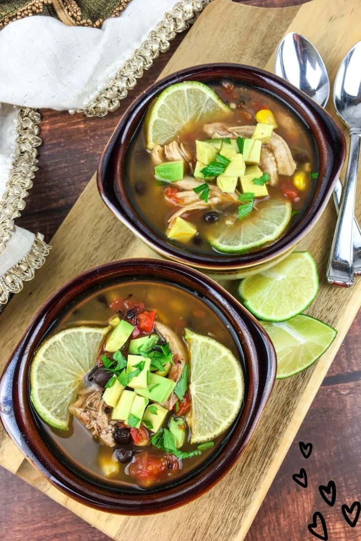 Tex-Mex Chicken and Black Bean Soup