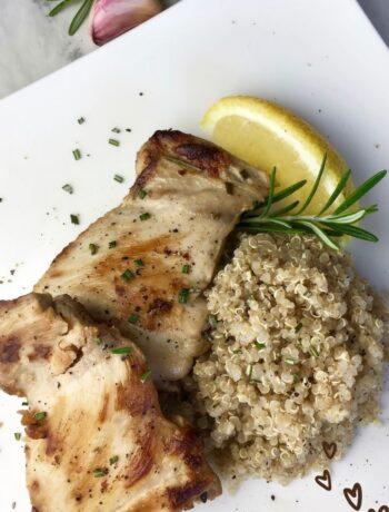 Rosemary Lemon Boneless Chicken Thighs Recipe
