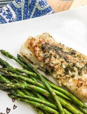 Atlantic Cod Recipe with Garlic-Herb Butter