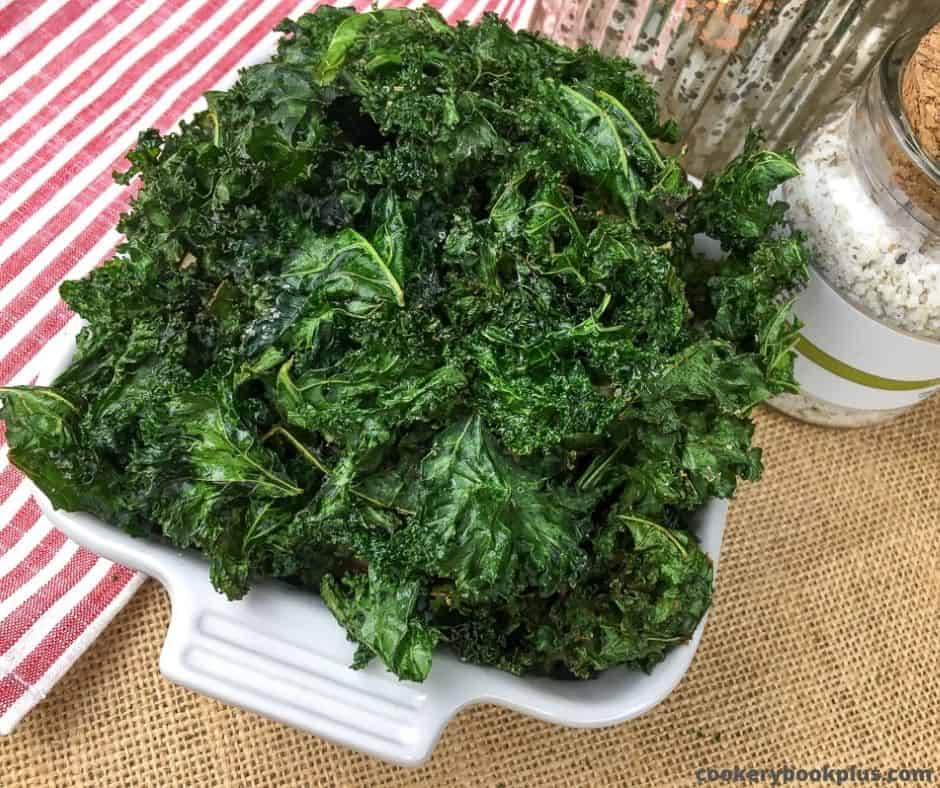 Keto kale chips recipe