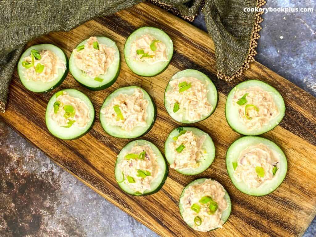 Cucumber appetizer recipe