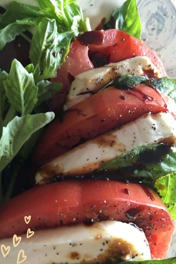 Classic Caprese Salad with Balsamic Glaze