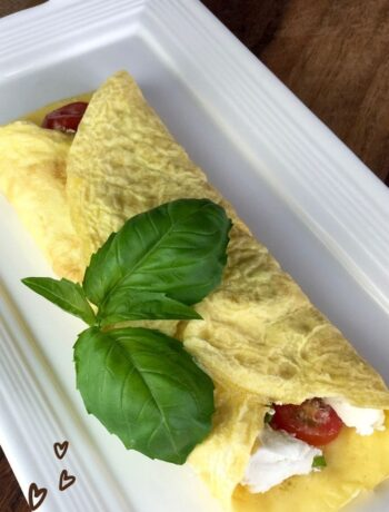 Flourless Crepes Recipe -Sweet and Savory