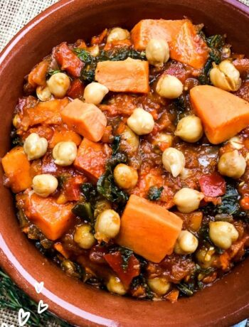 Spicy Moroccan Chickpea Stew