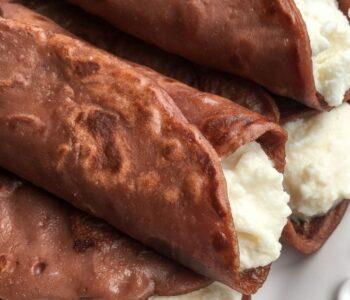 Tuscan Chestnut Flour Pancakes - Necci Recipe